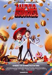 Lluvia de hamburguesas 3D