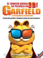 Garfield y el escuadrón de las mascotas 3D