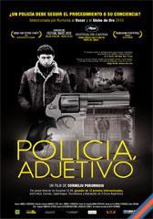 Policía, adjetivo