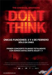 Don't think : The chemical brothers