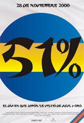 51 por ciento