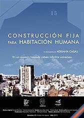 Construcción fija para habitación humana