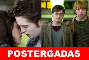 Primicia: se postergan Eclipse y la 7° de Harry Potter