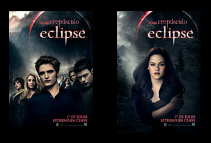 Concurso Express con afiches exclusivos de Eclipse
