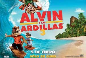 Alvin Y Las Ardillas 1, 2 Y 3