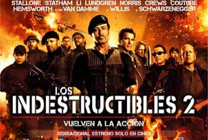 Avant premiere LOS INDESTRUCTIBLES 2