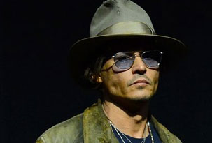 Cinemacon 2013: Johnny Depp estuvo mostrando El llanero solitario