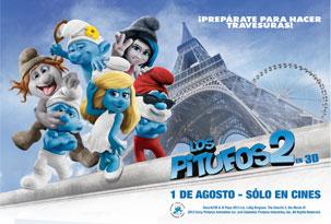 Avant premiere LOS PITUFOS 2   Cines Argentinos
