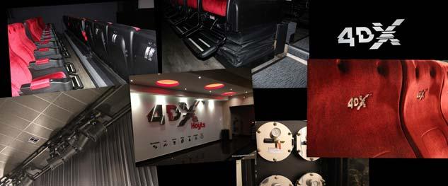 Chile lleg a las cuatro salas de cine 4dx y en la for Sala 4dx opiniones