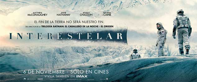Avant premiere INTERESTELAR en IMAX!
