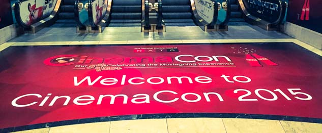 Arrancó Cinemacon 2015