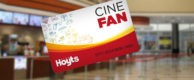 Hoyts lanzó un club de beneficios: CINE FAN